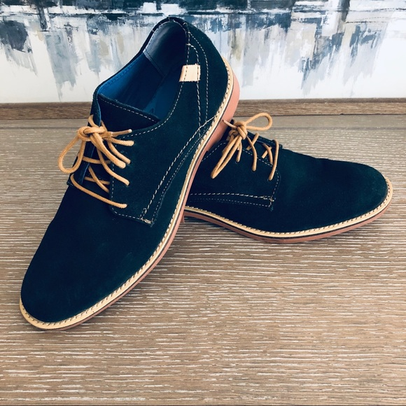 Mark Nason By Skechers Blue Suede Shoes